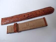 Lederband Krokodil UNIVERSAL Genf 15 mm Armbanduhr vintage Handarbeit