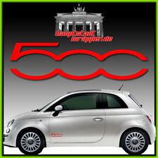 2 Stück Set  Fiat 500 Abarth Sticker Style Punto  Skorpion 500 Dekor Aufkleber