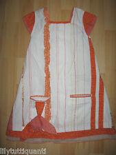 MODE D'ENFANT - Robe imprimée manches courtes - 4 ans - Très bon état !!