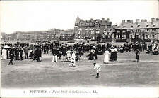 Southsea. Naval Drill on the Common # 31 by LL / Levy. Black & White.