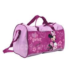 Disney Minnie Mouse Maus Kinder Sporttasche Reisetasche Tasche Umhängetasche #