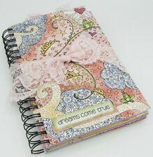 Junk Journal Dreams Come True Handmade Spiral Bound Journaling Book