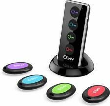 Key Finder, Esky New 4 In 1 Wireless Alarm Non Lost Electronic Key Finder Remote
