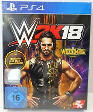 Playstation 4 - PS4 - WWE 2K18 WrestleMania Edition Beinhaltet alle DLCs + Bonus