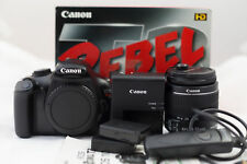 MINT Canon EOS Rebel T3 12.2MP SLR With 18-55mm IS Lens (3 Lenses).
