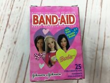 Vintage Barbie Band-aids box bandages collector Johnson and Johnson