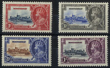 Mint Hinged Multiple Montserratian Stamps