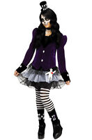 VOODOO DOLLY Doll Costume Sexy Hoodoo Witch Doctor Gypsy Dress Adult