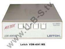Leitch vsm-4041 MB-Mix Box - 4x1 vídeo enrutador