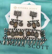 New Kendra Scott Emmylou Antique Silver $195.00