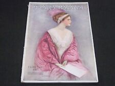 1913 FEBRUARY MCCALL'S MAGAZINE - FASHION ILLUSTRATIONS - CUT OUT PAGE - ST 153