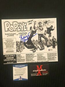 SHELLEY DUVALL AUTOGRAPHED SIGNED 8x10 PHOTO! POPEYE! BECKETT! STEPHEN KING