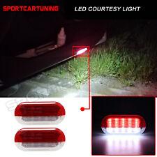 LED Ausstieg Einstieg Tür Warn Leuchten Rot&Weiß Für VW Golf MK3 MK4 Vento Polo