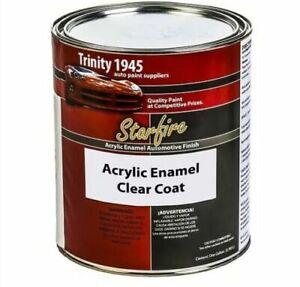Paintforcars Starfire Acrylic Enamel Clear Coat ? 1 Galon Kit