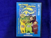 TELETUBBIES CD-ROM LOS JUEGOS DE LOS PREFERIDOS BBC