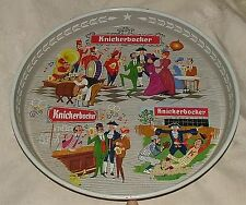 "1950s Rupert Knickerbocker Beer 12"" Tray Gay 90s Motif CLEAN Have a Knick"