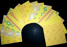 """220gsm Card ~ BOLD YELLOW  ~ D/sided Scrapbooking/Cardmaking 15cm x15cm (6""""x 6"""")"""