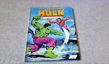 THE INCREDIBLE HULK World 1st UK ONLY H/B 1979 Marvel Comics Full-Colour Strip