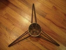 Antique Christmas Tree Stand : Cast Aluminum with Spike Legs