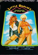 XXX Little Darlins Campaign Manual 1970s 80s Porn Sleeze Poster Ad