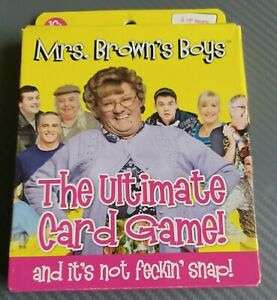 Mrs Browns Boys The Ultimate Card Game age 16+/2+ players new but storage weary
