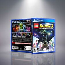 Lego Batman 3: Beyond Gotham - PlayStation Vita Cover and Case. NO GAME!!