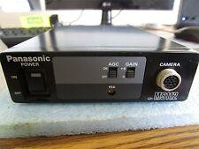 Matsushita / Panasonic Model: GP-MS112V Camera Control Unit. 12V. Power Chkd <