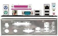 ATX panneau I/O shield Asus p4sdx p4pe2 k8v p4bgv #107 Io shield bracket NEW