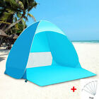 2 - 3 Person Pop Up Beach Tent Sun Shade Shelter Outdoor Camping Fishing Canopy