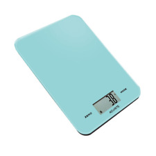 100% Genuine! Acurite Large Slim Line Digital Kitchen Scale 1g/8kg Tiffany Blue!