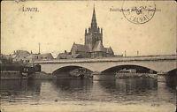 Laval Frankreich France AK 1905 Basilique Pont d´Avesnieres Brücke Kathedrale