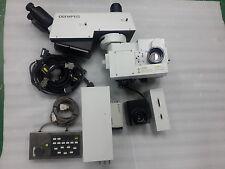 OLYMPUS MICRO SCOPE MX-SWETTR300, BX-UCB, U-AFA1M, U-IFFH, DXC-990 CCD, LENS