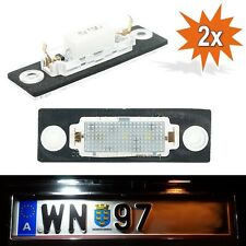 LED Kennzeichenbeleuchtung VW T5 Passat 3C B6 Caddy Touran Golf Plus Skoda WP2