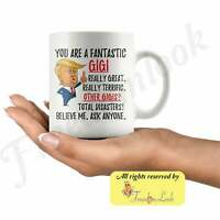 Funny Fantastic Gigi Mug Funny Trump Mug Gigi Gift For Christmas Funny Gigi