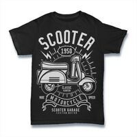 Scooter T-Shirt. 100% Cotton Premium Tee NEW