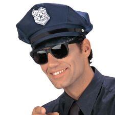 POLIZEI MÜTZE HUT BLAU Polizist Police Cop Polizeihut Stripper JGA Kostüm Party