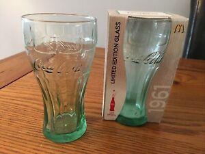 Coca Cola Limited Edition McDonalds Glasses 1961  x 2   (Unused)