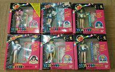 Sailor Moon Petit Soldier set of 6 Mini Figures Dolls w/card BANDAI
