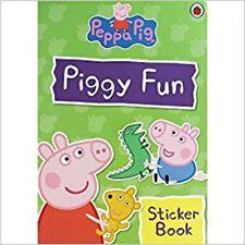 Piggy Fun Sticker Book, Very Good,  Book