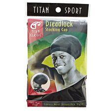 Titan Classic Dreadlock Stocking Cap, Black 1 ea