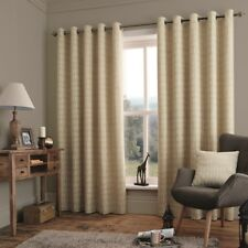 "Savannah Chenille Unfilled Pack of Cushion Covers 17""x17"" 43x43cm Natural Cream"