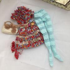 Pretty Little Lizette OUTFIT - Tonner Ellowyne Wilde doll fashion - flower dress