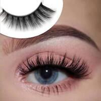 5 Pairs 3D Mink False Eyelashes Nature Cross Soft Long Eye Lashes Extension