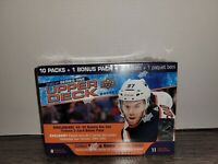"🏒🔥2020-21 Upper Deck Hockey Series 1 Mega Box ""Young Guns"" 11 Packs EXCLUSIVE!"