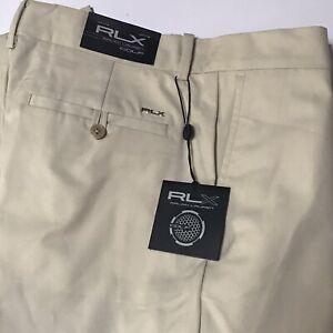RLX Ralph Lauren Golf Recovery Stretch Pants SZ 32x32 Basic Sand NWT