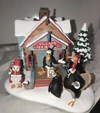 "Disney Winter Wonderland ""North Pole Village Hall"" Danbury Mint- In Box"