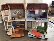 Disney Hannah Montana Dollhouse Malibu Foldable Beach House