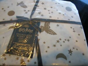 Pottery Barn Teen HARRY POTTER™ Enchanted Night  sheet set  New with tags