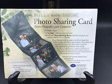 Creative Memories Photo Sharing Card, 4 x 6 Black NIP