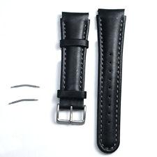 22mm correa ajustable de moda cuero banda reloj de repuesto para Suunto X-Lander
